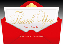 Very Thankful Thank You Cards